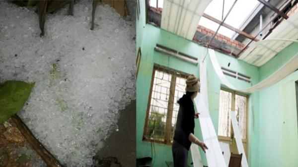 Tuyên Quang: Giông lốc trong đêm gây thiệt hại nặng nề trên địa bàn tỉnh