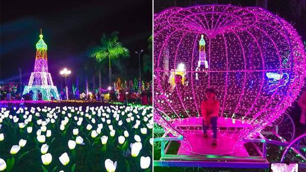 Dịp mùng 8/3 ngay gần Hà Nội: Siêu trình chiếu hàng triệu đèn led - cơ hội chưa từng có để check-in sang chảnh