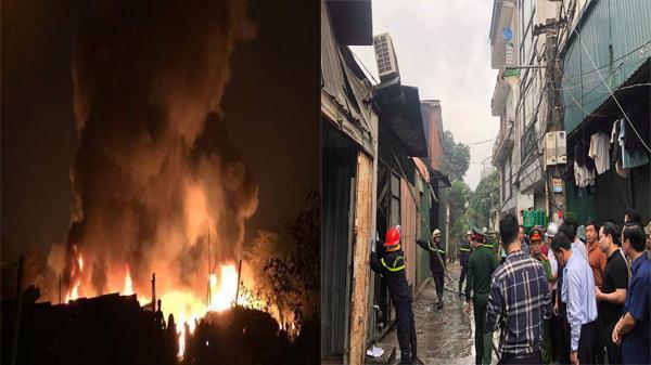 Cháy kinh hoàng lúc rạng sáng, 8 người chết và mất tích