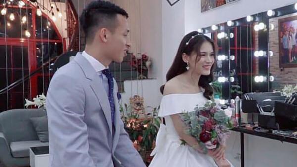 """Cận cảnh nhan sắc """"bông hoa núi rừng""""  chuẩn bị làm vợ của tuyển thủ của quốc gia Việt Nam"""
