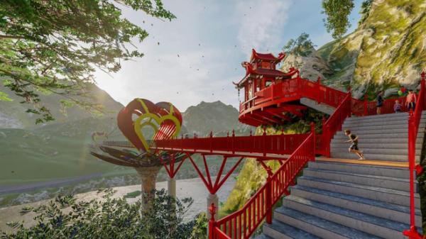 """Tranh cãi xoay quanh yếu tố thẩm mỹ của cây cầu 5D đang gây sốt ở Mộc Châu: Khen đẹp thì ít nhưng chê bai """"sến súa"""", """"lạc lõng"""" nhiều vô kể"""