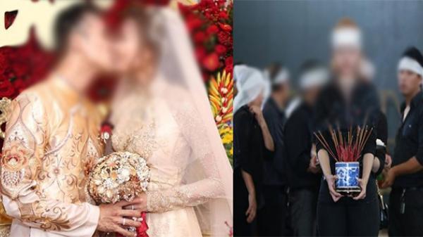Cô dâu quyết định tổ chức đám cưới chung với đám ta.ng của dì cho tiết kiệm chi phí