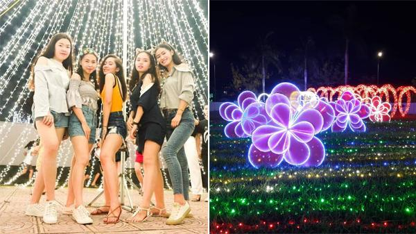Lần đầu tiên tại Quảng Ngãi: Sắp diễn ra Festival trình chiếu ánh sáng 2019 với hàng triệu bóng đèn LED