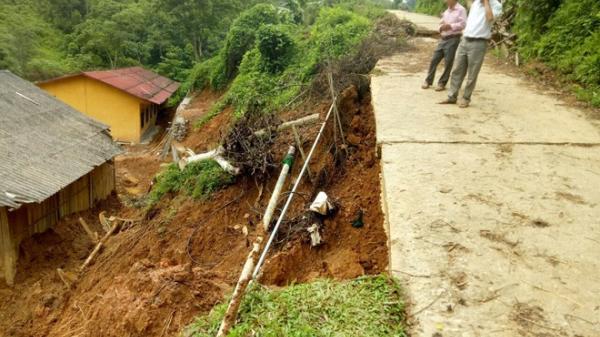 Tuyên Quang: Mưa lớn kéo dài gây sạt lở đất nghiêm trọng