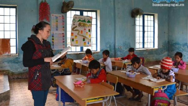 Quảng Ngãi: Thí sinh dân tộc thiểu số được miễn thi Ngoại ngữ trong đợt tuyển dụng giáo viên 2017