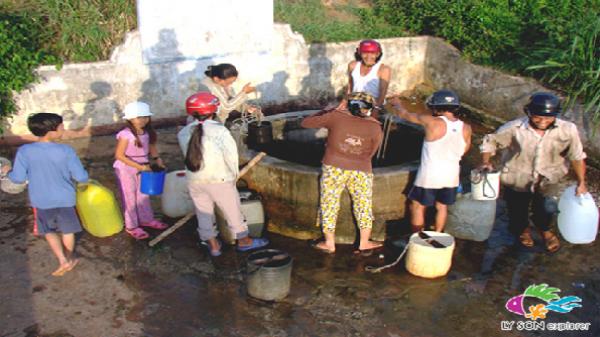 Bảo vệ nguồn nước ngọt trên đảo Lý Sơn