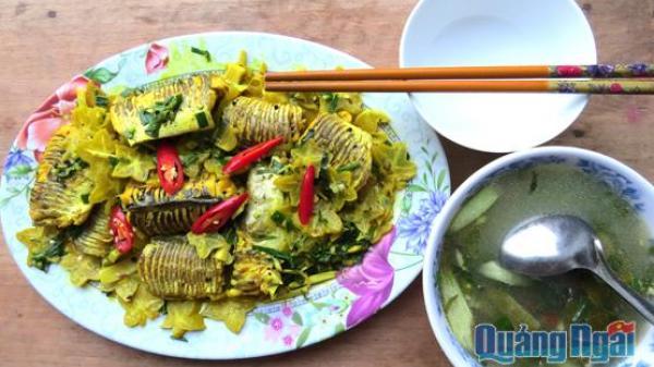 Hương vị quê nhà: Cá lạt um khế