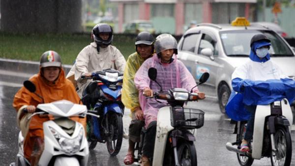 Ảnh hưởng không khí lạnh, các tỉnh ven biển miền Trung có mưa lớn