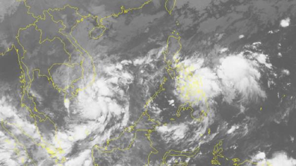 Xuất hiện vùng áp thấp khả năng đi vào Biển Đông vào ngày 2/11