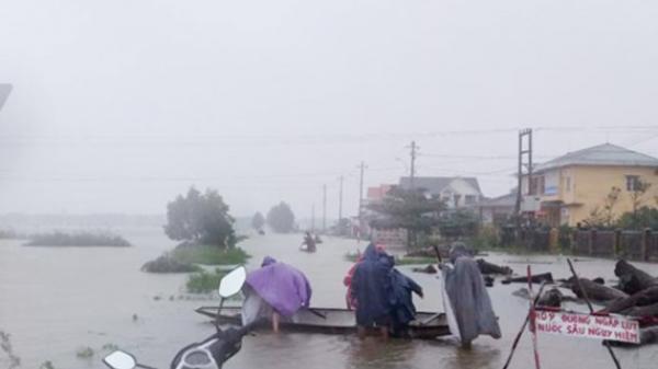 Lũ quét, sạt lở đất rình rập vùng núi các tỉnh Thừa Thiên Huế đến Quảng Ngãi