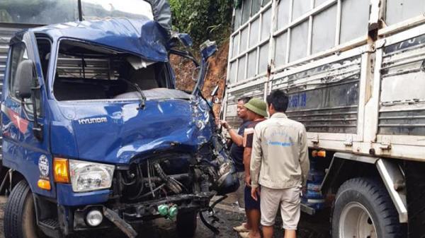 Va chạm liên hoàn hướng Tuyên Quang – Hà Giang, giao thông ùn tắc nghiêm trọng