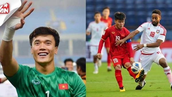 Chấm điểm U23 Việt Nam 0-0 U23 UAE: Bùi Tiến Dũng xứng đáng ngợi khen!