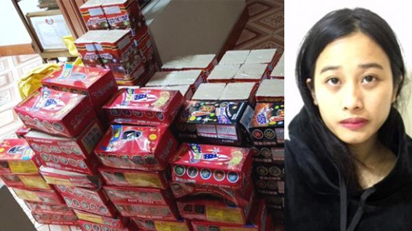 Bị bắt khi rao bán 138kg pháo Trung Quốc ở cổng chợ Ka Long (Quảng Ninh)