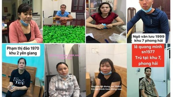 Quảng Ninh: Tạm giữ hình sự 8 đối tượng có hành vi đánh bạc