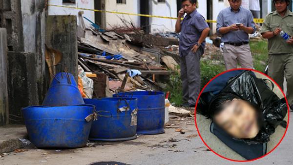 Clip cận cảnh hiện trường vụ người đàn ông bị giết, vứt đầu vào thùng rác