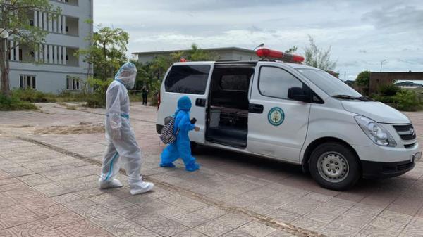 Quảng Bình: Hai cháu nhỏ được phát hiện dương tính với SARS-CoV-2