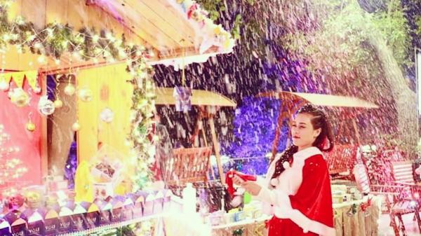 Tham gia phiên chợ Gỗ Giáng sinh đậm chất Âu trong cơn mưa tuyết ở Hạ Long