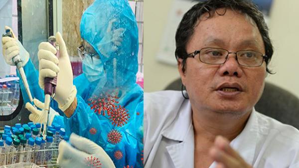 Bác sĩ Trương Hữu Khanh: Test nhanh ở khu dân cư, cẩn thận kẻo thành ổ dịch