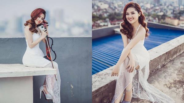 """Nhan sắc """"không phải dạng vừa"""" của hot girl violin Quảng Ninh từng gây sốt trong MV triệu view"""