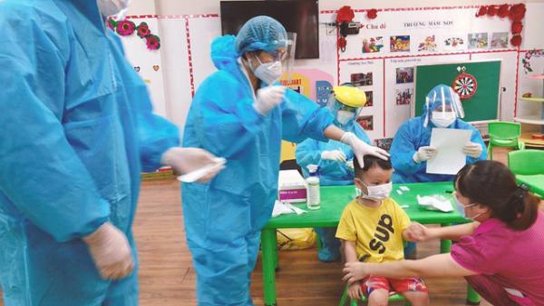 Chùm COVID-19 ở Bắc Ninh tăng lên 26 ca, trong đó có 8 trẻ em
