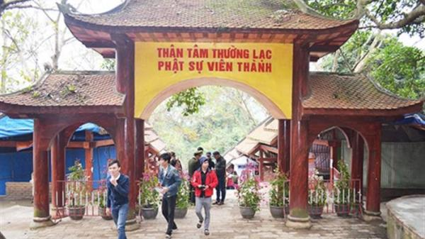 Yên Tử (Quảng Ninh): Đón 1.500 khách tới vãn cảnh ngày đầu năm mới