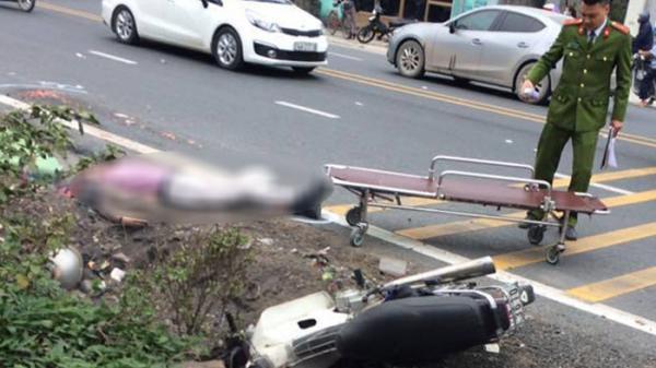 Quảng Ninh: Tài xế xe tải bỏ chạy sau cú va chạm với xe máy khiến một người tử vong