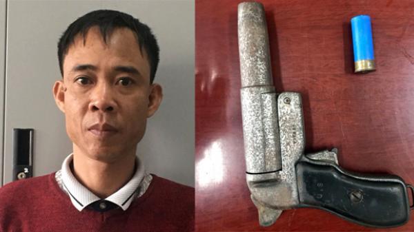 NÓNG: Đối tượng bắn chết người vì mâu thuẫn giao thông ở Quảng Ninh ra đầu thú