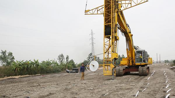 Đường nối với KCN Nam Tiền Phong: Hoàn thành đồng bộ cao tốc Hạ Long - Hải Phòng
