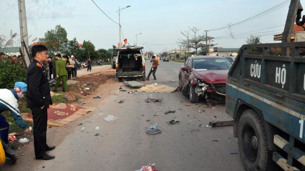 Quảng Ninh: Tai nạn giao thông nghiêm trọng, 2 người tử vong