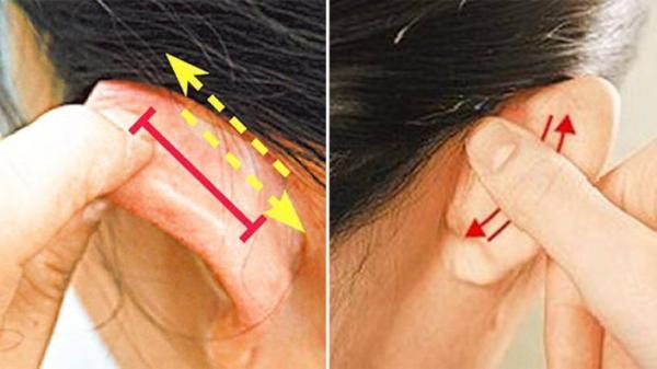 Xoa vuốt tai trong 10 phút: Tác dụng 'kỳ diệu' từ đầu đến chân, thông máu, sạch nội tạng