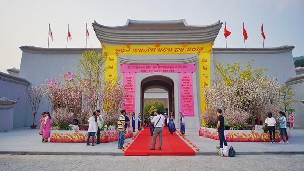 Ấn tượng Lễ hội hoa Anh đào – Mai vàng Yên Tử năm 2018