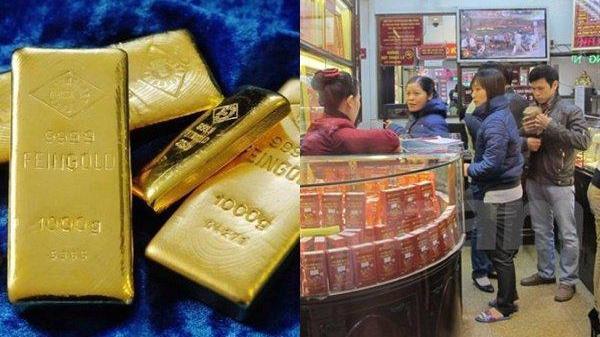 Giá vàng ngày hôm nay 29/3: Ồ ạt bán tháo, vàng chìm xuống đáy 6 tuần