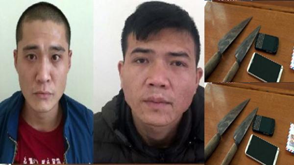 Quảng Ninh: Lộ diện 2 đối tượng bịt mặt dùng dao cướp tài sản TINH VI