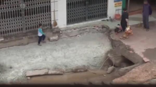 Xác định nguyên nhân ban đầu về hiện tượng sụt lún tại Cẩm Phả, Quảng Ninh