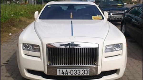 Điểm danh dàn Rolls-Royce siêu sang biển 'khủng' của đại gia Việt