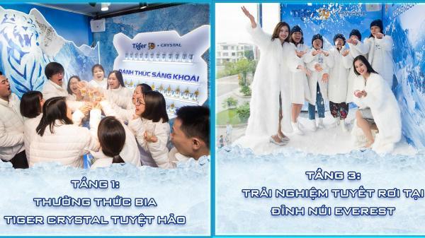 Lần đầu tiên ở Quảng Ninh: Tận hưởng không gian băng giá và tuyết rơi có 1 – 0 – 2 ngay giữa mùa hè