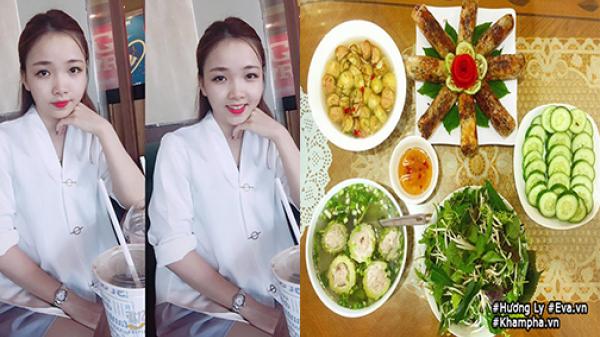 """Cô gái 20 tuổi tự đi chợ nấu cơm cho bố mẹ, ai cũng khen """"đủ chuẩn lấy chồng"""""""