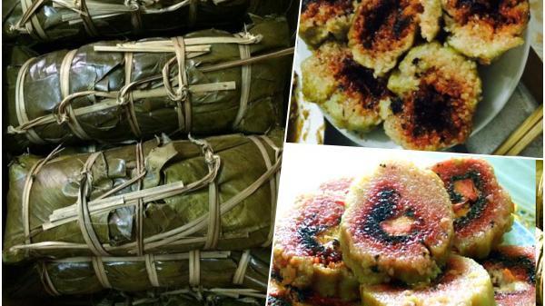 Bánh chưng cơm lông - món ngon truyền thống của Hải Hà