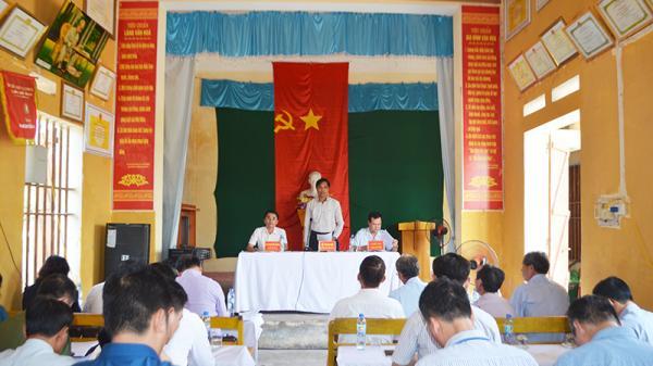 UBND tỉnh đối thoại giải quyết tố cáo của 4 công dân thôn Bắc Sơn, xã Bình Khê (TX Đông Triều)