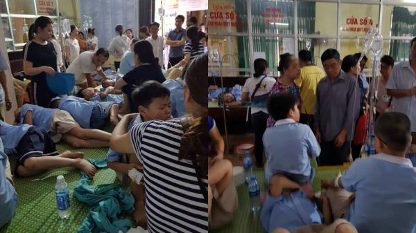 Sốc: Gần 200 học sinh tiểu học nghi bị ngộ độc sau bữa ăn trưa