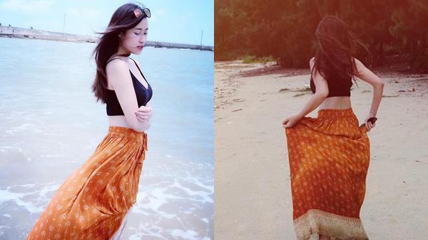 Theo chân hot girl Thái Nguyên 'oanh tạc' khắp đảo Cái Chiên chỉ với 1 triệu đồng