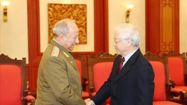 Việt Nam sẽ tạo điều kiện thuận lợi để quan hệ quốc phòng Việt Nam - Cu-ba tiếp tục tăng cường và phát triển