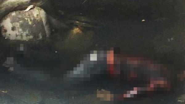 Tá hỏa phát hiện t.hi th.ể nam thanh niên nằm sấp dưới mương nước