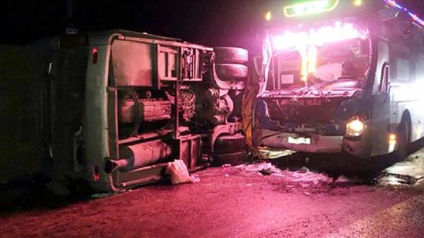 Ám ảnh lời kể của nạn nhân vụ 2 xe khách tô.ng nhau, 14 người thương vo.ng tại Bình Định