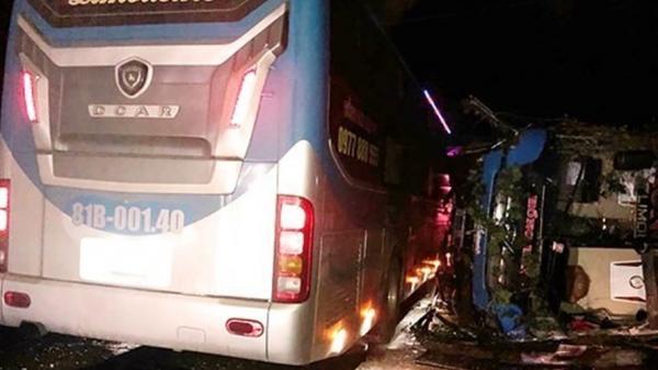 Vụ xe khách tông nhau ở Bình Định: Sức khỏe các n.ạn nh.ân đã ổn định