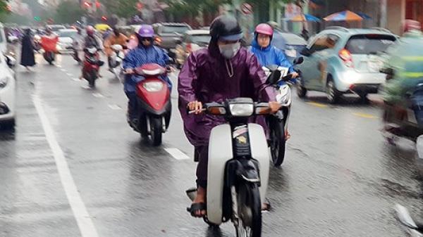 Quảng Ngãi và các tỉnh lân cận có mưa vừa, mưa to trong 2 – 3 ngày tới