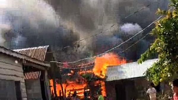 Vụ cháy nhà đúng dịp cuối năm tại Gia Lai: Cả 3 nhà bị lửa thiêu rụi đều thuộc hộ nghèo