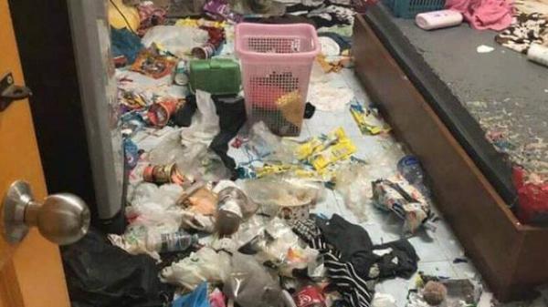Xôn xao câu chuyện cô gái bùng tiền nhà trọ để lại căn phòng như bãi rác và 3 chú mèo ốm đói gây phẫn nộ