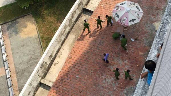 Người đàn ông nghi nhảy từ tầng 8 bệnh viện xuống đất t.ử v.ong thương tâm