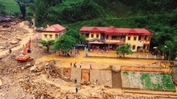 Cảnh báo lũ quét, sạt lở đất, ngập úng tại Quảng Nam, Quảng Ngãi, Bình Định